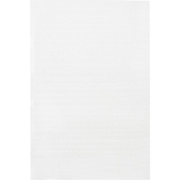 "W.B. Mason Co. Flush Cut Foam Pouches, 24"" x 36"", White, 50/CS"