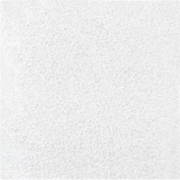 "W.B. Mason Co. Flush Cut Foam Pouches, 3"" x 3"", White, 1000/CS"
