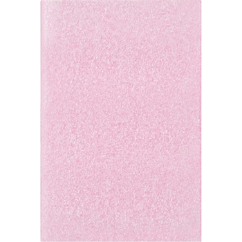 "Anti-Static Flush Cut Foam Pouches, 4"" x 6"", Pink, 500/CS"