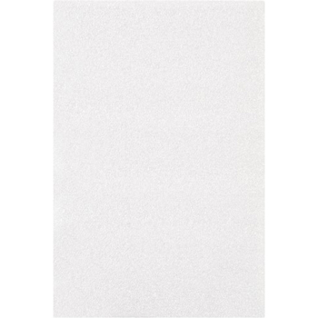 "W.B. Mason Co. Flush Cut Foam Pouches, 6"" x 9"", White, 275/CS"