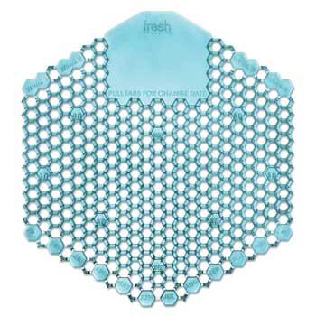 Fresh Products Wave™ 2.0 Urinal Deodorizer Screens, Blue, Ocean Mist, 10/BX