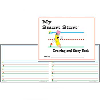 """Teacher Created Resources Smart Start Drawing & Story Book, 8 1/2"""" x 11"""", Portrait"""