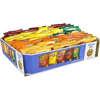 Frito-Lay Potato Chips Bags Variety Pack, 1 oz., 50/PK