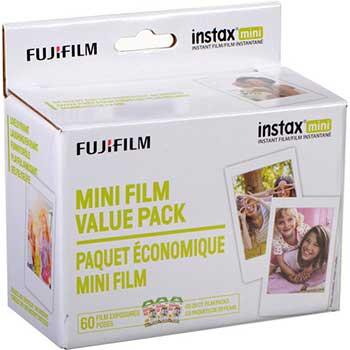 Fujifilm Instax Mini Film, 800 ASA, 60-Exposure Roll