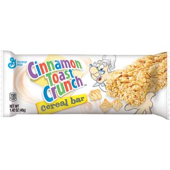 General Mills Cinnamon Toast Crunch® Cereal Bar, 1.42 oz., 96/CS