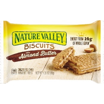 Nature Valley® Almond Butter Biscuits, 1.35 oz., 16/BX