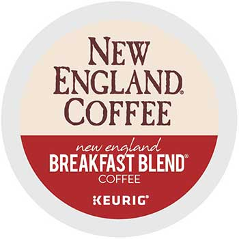 New England® Coffee Breakfast Blend K-Cup® Pods, 24/BX