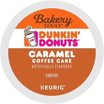 Caramel Coffee Cake, K-Cup® Pods, 24/BX