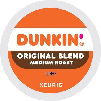 Dunkin® Original Blend Coffee K-Cup® Pods, Medium Roast, 22/BX