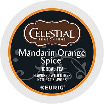 Mandarin Orange Spice Herb Tea K-Cup® Pods, 24/BX