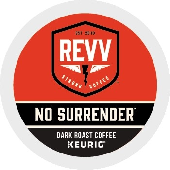 revv® No Surrender™ Coffee K-Cup® Pods, 24/BX