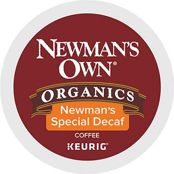 Newman's Own® Organics Newman's Special Blend Decaf K-Cup® Pods, 24/BX, 4 BX/CT