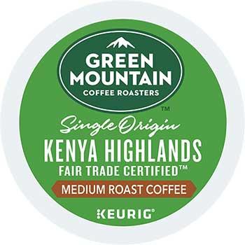 Kenya Highlands Coffee K-Cup® Pods, 24/BX