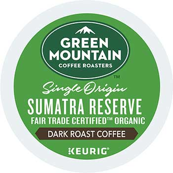 Fair Trade Organic Sumatran Extra Bold Coffee K-Cup® Pods, 24/BX