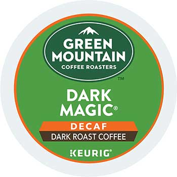 Dark Magic® Decaf Extra Bold Coffee K-Cup® Pods, 24/BX