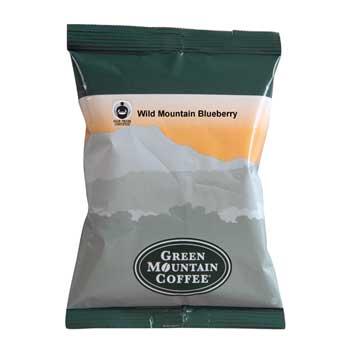 Green Mountain Coffee® Pre-Measured Coffee Packs, Wild Mountain Blueberry, 2.2 oz., 50/CS