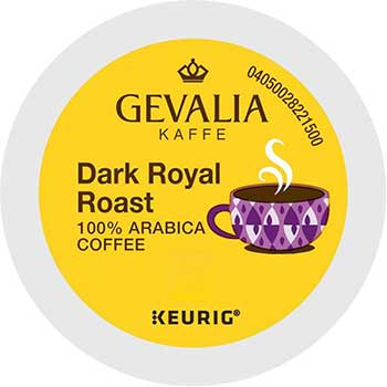 Gevalia® Dark Royal Roast K-Cup® Pods, 24/BX