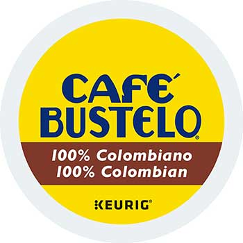 100% Colombian K-Cups, 24/Box, 4 Boxes/Carton