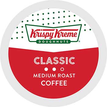 Doughnuts Classic Smooth Coffee, K-Cup® Pods, 24/BX
