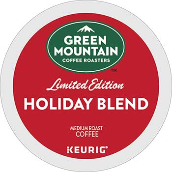 Holiday Blend K-Cup® Pods, Medium Roast, 24/BX
