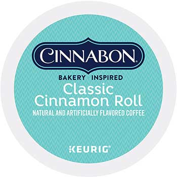 Classic Cinnamon Roll Coffee K-Cup® Pods, 24/BX