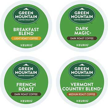 Regular Variety Pack Coffee K-Cup® Pods, 22/BX