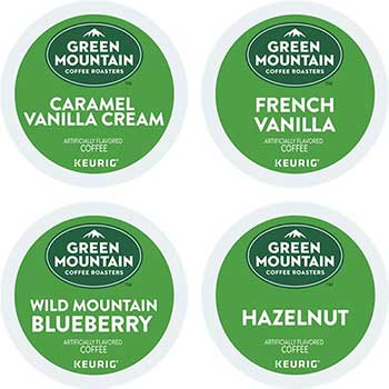 Flavored Variety Coffee K-Cup® Pods, 22/BX