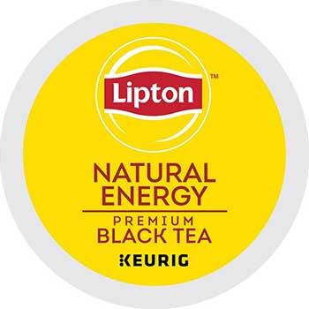 Natural Energy Premium Black Tea K-Cup® Pods, 24/BX