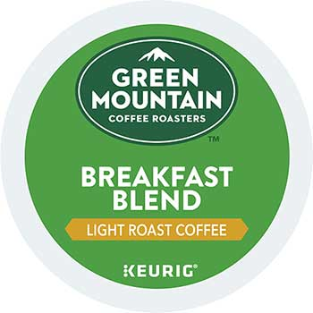 Breakfast Blend Coffee K-Cup® Pods, 24/BX, 4 BX/CT