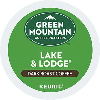 Lake & Lodge Coffee K-Cup Pods, 24/BX