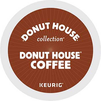 Donut House® Coffee K-Cup® Pods, 24/BX, 4 BX/CT