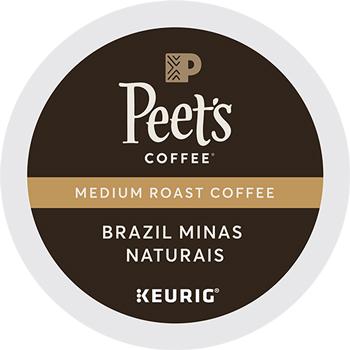 Peet's Coffee & Tea® Brazil Minas Naturais K-Cup® Pods, 22/BX