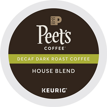 Peet's Coffee & Tea® Decaf House Blend K-Cup® Pods, 22/BX