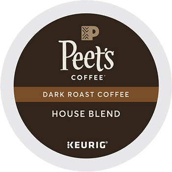 House Blend Coffee K-Cup® Pods, 22/BX