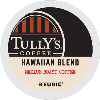 Hawaiian Blend Coffee K-Cup® Pods, 24/BX, 4 BX/CT