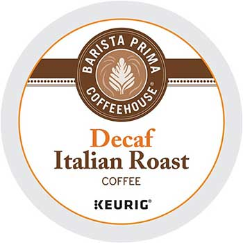 Decaf Italian Roast Coffee K-Cup® Pods, 24/BX