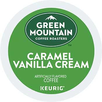 Caramel Vanilla Cream Coffee K-Cups, 24/BX, 4 BX/CT