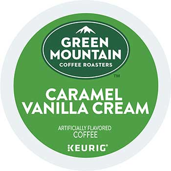 Green Mountain Coffee® Caramel Vanilla Cream Coffee K-Cup® Pods, 24/BX