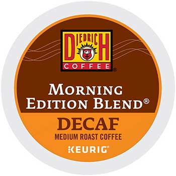 Diedrich Coffee® Morning Edition Blend® Decaf Coffee K-Cup® Pods, 24/BX