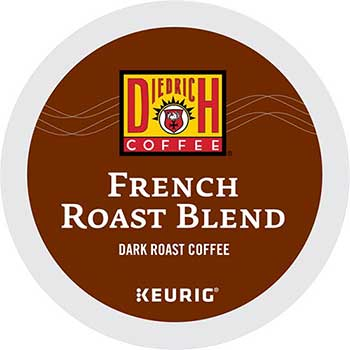 Diedrich Coffee® French Roast Coffee K-Cup® Pods, 24/BX