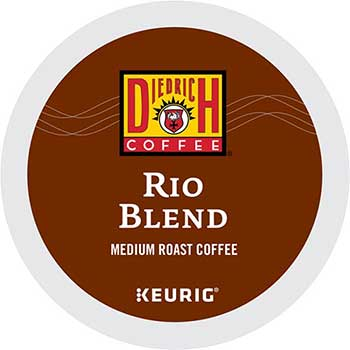 Rio Blend Coffee K-Cup® Pods, 24/BX