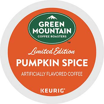 Green Mountain Coffee® Seasonal Selections Pumpkin Spice Flavored Coffee K-Cup® Pods, 24/BX, 4 BX/CT