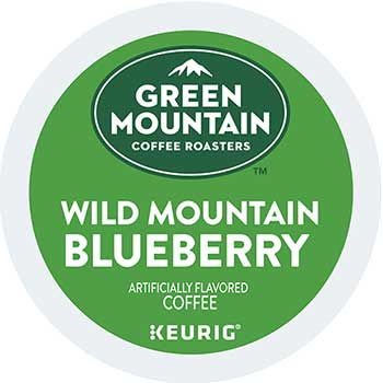 Fair Trade Certified Wild Mountain Blueberry® Coffee K-Cup® Pods, 24/BX