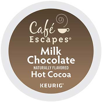 Milk Chocolate Hot Cocoa K-Cup® Pods, 24/BX