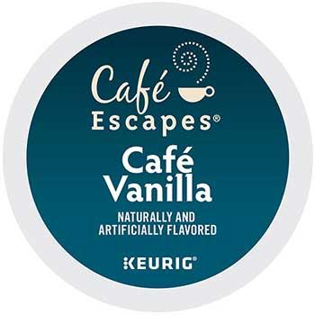 Café Vanilla K-Cup® Pods, 24/BX