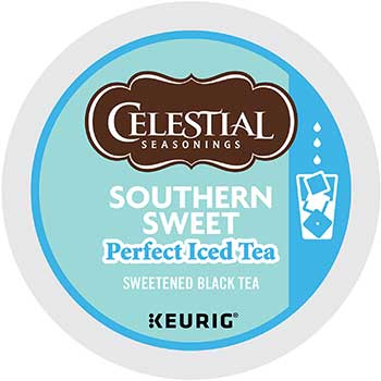 Celestial Seasonings® Southern Sweet Perfect Iced Tea K-Cup® Pods, 22/BX