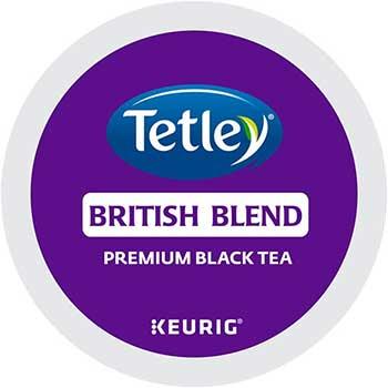 Tetley® British Blend Premium Black Tea K-Cup® Pods, 24/BX