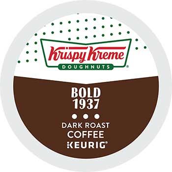 Krispy Kreme Doughnuts® Doughnuts Rich Bold 1937 Blend Coffee, K-Cup® Pods, 24/BX