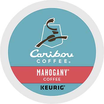 Mahogany® Coffee K-Cup® Pods, 24/BX