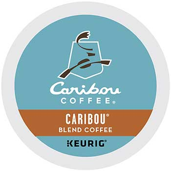 Caribou® Blend Coffee K-Cup® Pods, 24/BX, 4 BX/CT